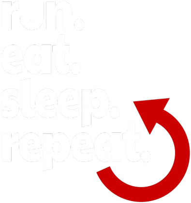 T-shirt biegacza. Plan dnia.