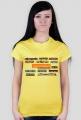 Koszulka damska (6 kolorów)
