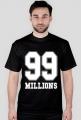 99 MILLIONS #SWAG T-SHIRT