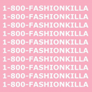1-800-FASHIONKILLA white t-shirt girl