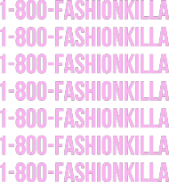 1-800-FASHIONKILLA white blouse