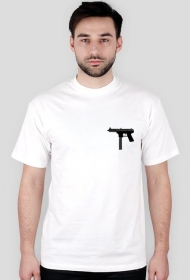 tec 9 white t-shirt