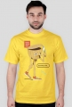 Boys don't cry - t-shirt pomarańczowy - skosztuj.to
