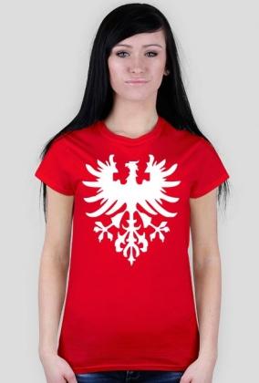 d52a02132 POWSTANIE WIELKOPOLSKIE T-Shirt Red Damski - koszulki damskie w HighKing
