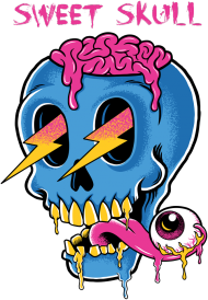 Sweet Skull Gril All Colors - MadWear