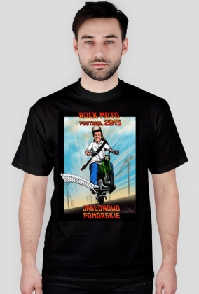 """T-shirt """"Ponury jeździec"""""""