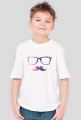 Koszulka dla chłopca wąs