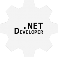 .NET Developer - czarna