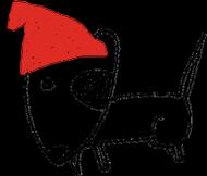 Świąteczny kubek 2-stronny z czerwonym uchem