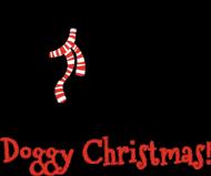 Damska świąteczna koszulka (wycięcie) - Owczarek Niemiecki
