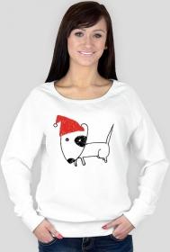 Damska świąteczna bluza