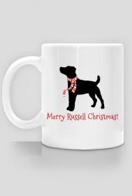 Świąteczny kubek - Russell Terrier