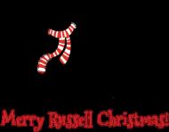 Śpioszek świąteczny - Russell Terrier
