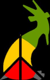 kozioł peace - woman standard