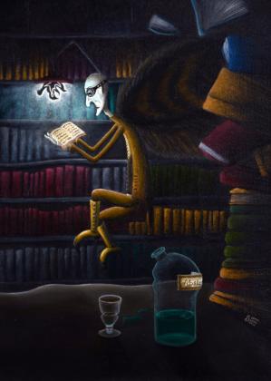 Plakat Bibliotekarz/Poster Librarian