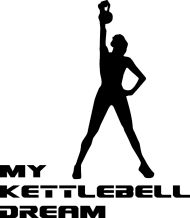 Torba na siłownię my kettlebell dream/czarny
