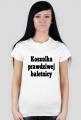 t-shirt: koszulka prawdziwej baletnicy