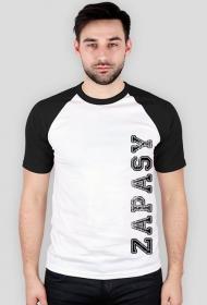 koszulka zapasy biało czarna