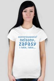 koszulka zapaśnicza dla kobiet