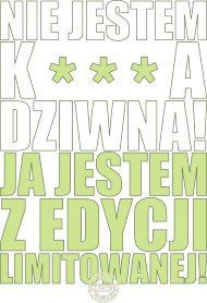 Edycja Limitowana (by Szymy.pl) - damska cenzura