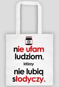Nie ufam (nutella, słodycze) by Szymy.pl - torba