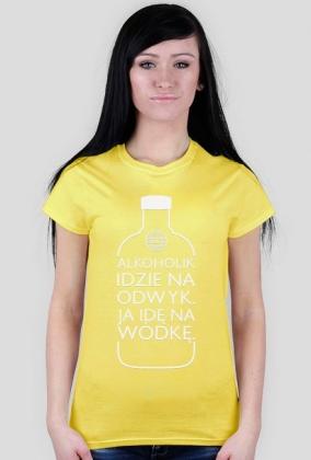 Alkoholik (wódka) by Szymy.pl - ciemna damska