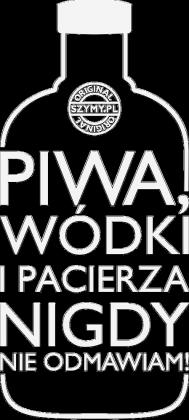 Nie odmawiam (piwo, wódka, pacierz) by Szymy.pl - ciemna damska