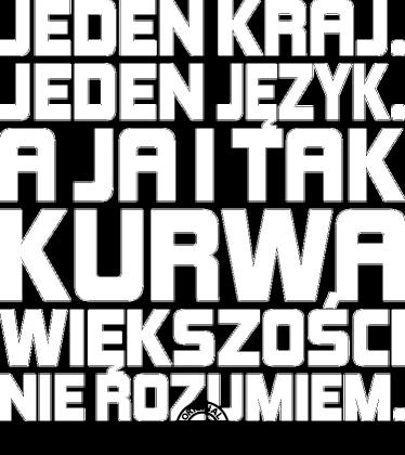 Jeden kraj (by Szymy.pl) - ciemna damska