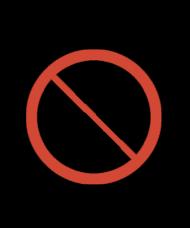 Zakaz dotykania