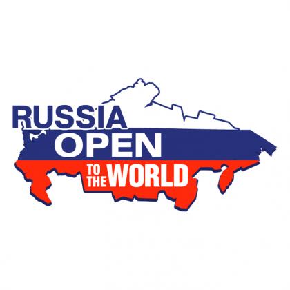Koszulka damska - nadruk Rosja, Russia Open (widoczny na obrazku)