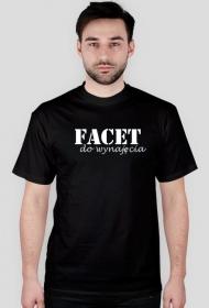 T-shirt męski Facet do wynajęcia [SIMPLE]
