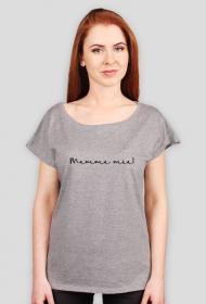 Mamma mia Biały/szary Tshirt