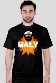 Mały, ale szariat - Męski T-shirt