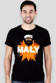 Mały, ale szariat - Męski T-shirt (Slim)