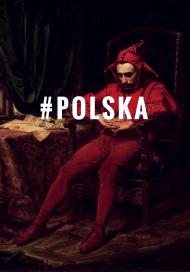 "Gruba bluza męska ""#Polska"""