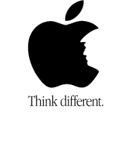 "Koszulka ""Think different"""