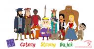Cztery Strony Bajek - różne postaci