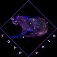 Galaxy Rat Tank Top