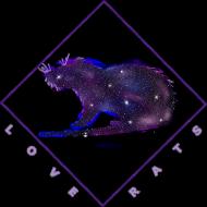 Galaxy Rat T-shirt Kid