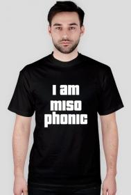 Koszulka I am misophonic Black