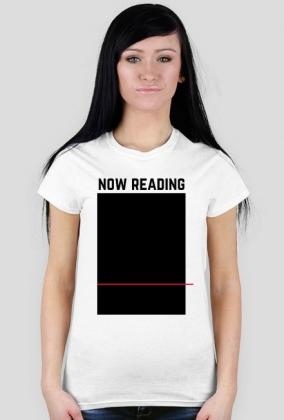 Koszulka Now reading