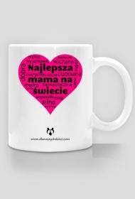 Najlepsza mama na świecie serce