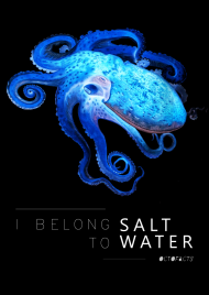Koszulka Octofacts - I belong to saltwater