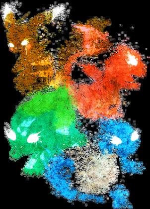 Startery pokemon generacja 1