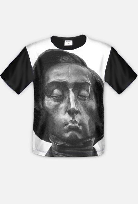 Chopin B/W - tshirt full print