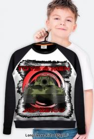 Bluza dziecięca z czołgiem