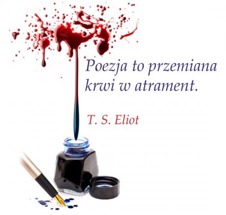 Przypinka - Cytat T.S. Eliot