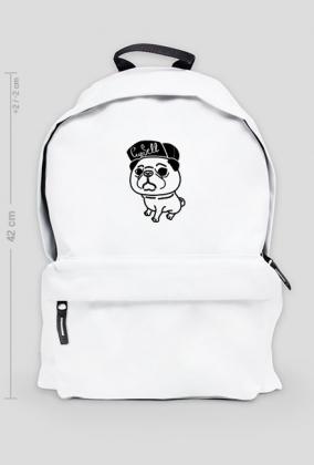 Plecak biały duży