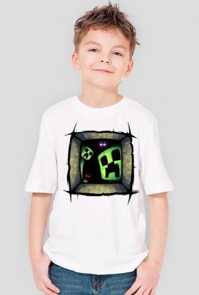 Chłopieńca koszulka Kopalnia