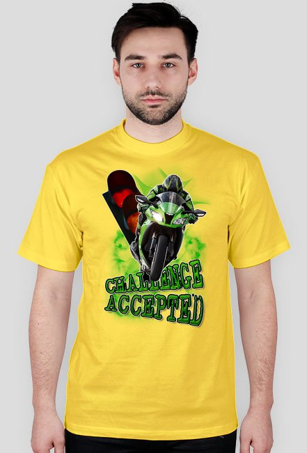 Challenge Accepted koszulka męska